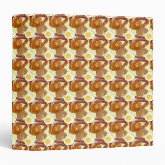 """Cuaderno de la comida de desayuno carpeta 1 1/2"""""""