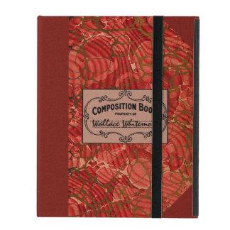 Cuaderno de la composición de la escuela vieja