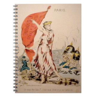 Cuaderno de la comuna de París