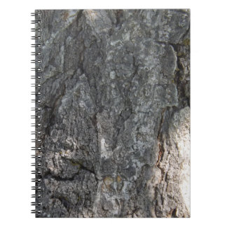Cuaderno de la corteza de árbol