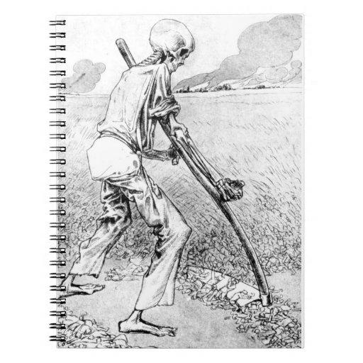 Cuaderno de la cosecha del segador