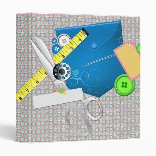"""Cuaderno de la costurera del diseño de la moda carpeta 1"""""""