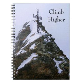 Cuaderno de la cruz de la cumbre de Cervino