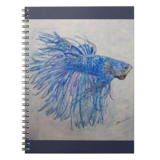 Cuaderno de la danza de fan (80 páginas B&W)