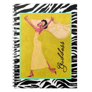 """Cuaderno de la """"diosa"""""""