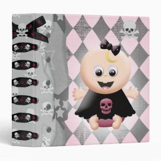 "Cuaderno de la diva de Emo de la niña Carpeta 1 1/2"""