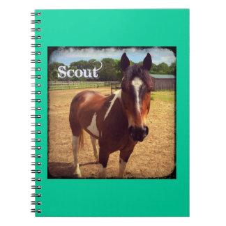 Cuaderno de la edición de lujo del explorador