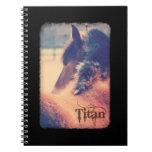 Cuaderno de la edición de lujo del titán