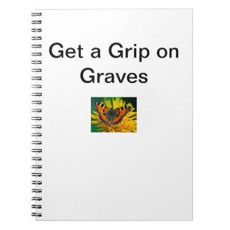 Cuaderno de la enfermedad de sepulcros