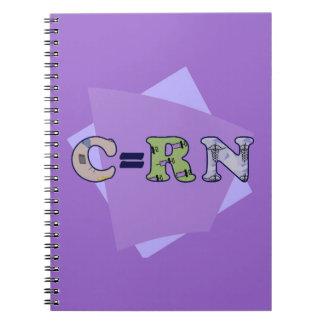 Cuaderno de la enfermera de estudiante de C