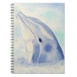Cuaderno de la escritura del delfín