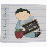 Cuaderno de la escuela de los muchachos