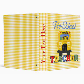 """Cuaderno de la escuela del profesor del preescolar carpeta 1"""""""