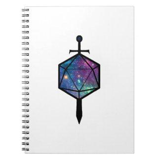 Cuaderno de la espada D20