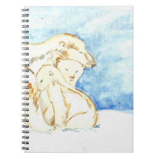 Cuaderno de la familia del oso polar