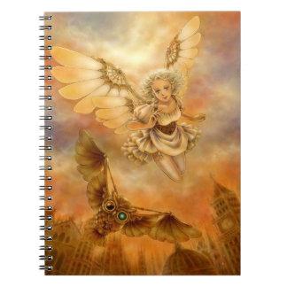 Cuaderno de la fantasía de Steampunk