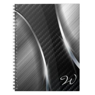 Cuaderno de la fibra de carbono 3A