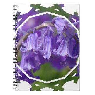 Cuaderno de la flor de Bell