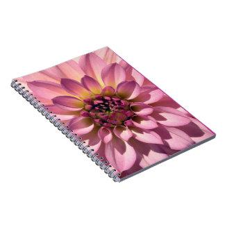 Cuaderno de la flor de la floración