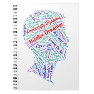 Cuaderno de la foto de ADHD de motivación