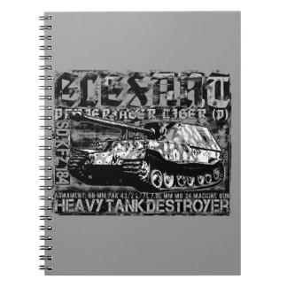Cuaderno de la foto de Elefant (80 páginas B&W)
