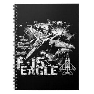 Cuaderno de la foto de F-15 Eagle (80 páginas B&W)