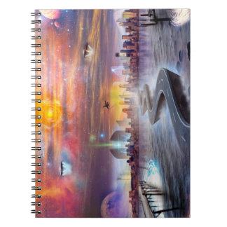 Cuaderno de la foto de FutureVision (80 páginas
