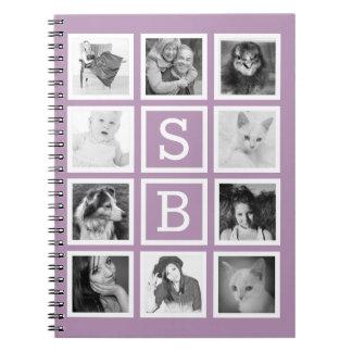 Cuaderno de la foto de Instagram con 10 imágenes e