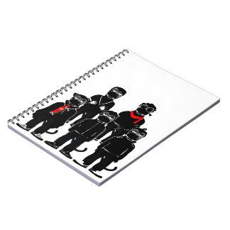 Cuaderno de la foto de los hermanos de Mr.Vampire