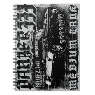 Cuaderno de la foto de Panzer III (80 páginas B&W)