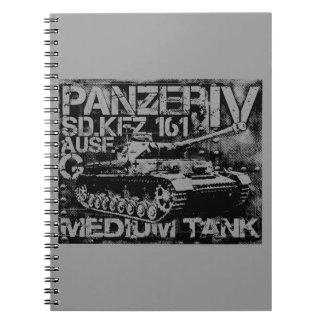 Cuaderno de la foto de Panzer IV (80 páginas B&W)