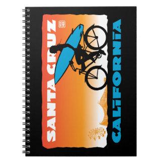 Cuaderno de la foto de Santa Cruz, California