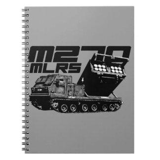 Cuaderno de la foto del MLRS M270 (80 páginas B&W)