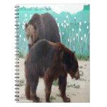 Cuaderno de la foto del oso