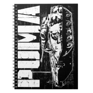 Cuaderno de la foto del puma (IFV) (80 páginas