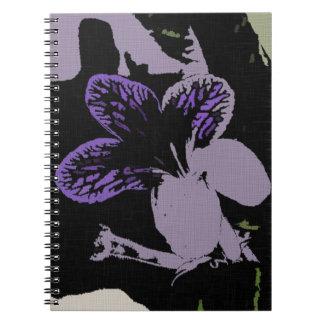 Cuaderno de la foto del Streptocarpus (80 páginas