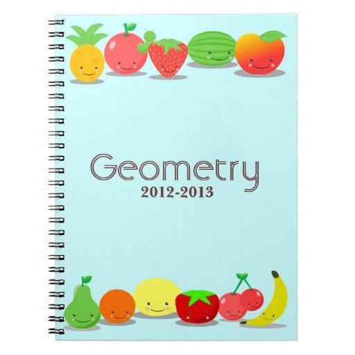 Cuaderno de la fruta