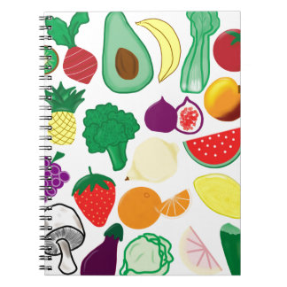 Cuaderno de la fruta y de la verdura