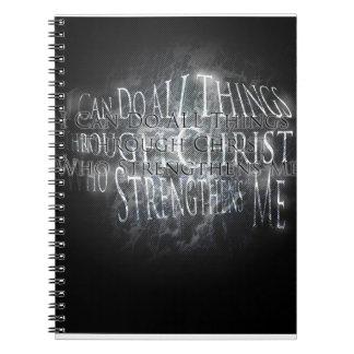 Cuaderno de la fuerza