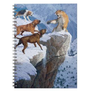 Cuaderno de la furia de la montaña
