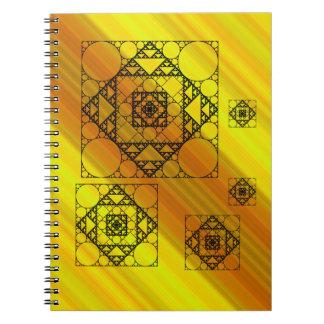 Cuaderno de la geometría del fractal