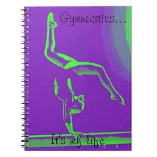 Cuaderno de la gimnasia