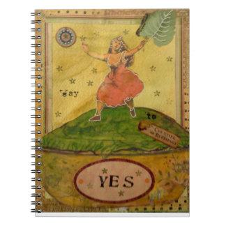 Cuaderno de la gratitud que cuenta bendiciones