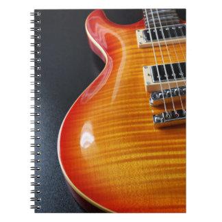 Cuaderno de la guitarra eléctrica