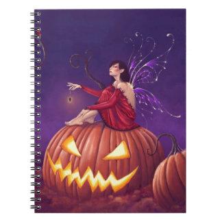 Cuaderno de la hada de Halloween del duendecillo