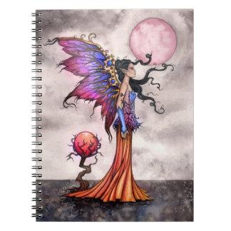 Cuaderno de la hada de la fantasía de Fae Abigail