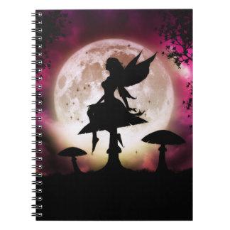 Cuaderno de la hada del Titania