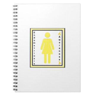cuaderno de la hembra de la conciencia de la endom