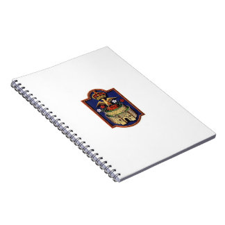 Cuaderno de la insignia de Jane Seymour Phoenix