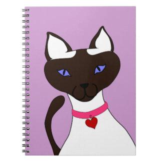 Cuaderno de la lavanda de Moira del Ronroneo-fect